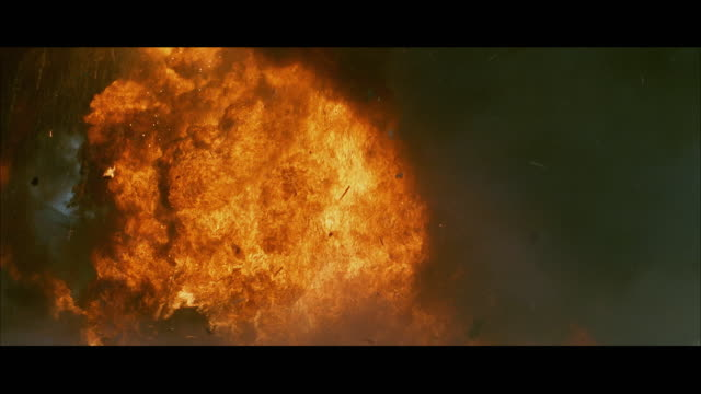 WS Large tank exploding
