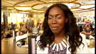Largest gospel choir world record attempt at Westfield Shopping Centre Richard Taylor OBE interview SOT / Rachel Kerr interview SOT / general views...