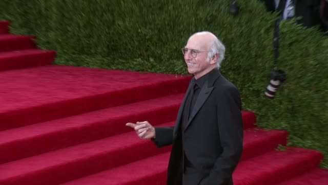 Larry David at 'China Through The Looking Glass' Costume Institute Benefit Gala Arrivals at Metropolitan Museum of Art on May 04 2015 in New York City