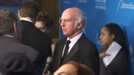 Larry David at the UNICEF Ball Honoring Jerry Weintraub at Beverly Hills CA