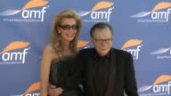 Larry King at Alfred Mann Foundation's An Evening Under the Stars with Andrea Bocelli in Los Angeles CA