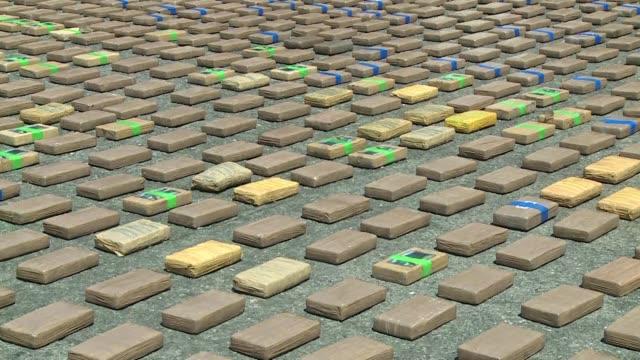 Las autoridades de Colombia anunciaron el jueves el decomiso de mas de una tonelada de cocaina y un sumergible para el trafico de drogas