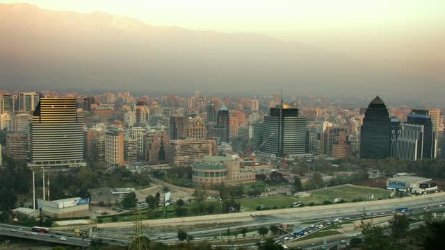 T/L, WS, HA, Las Condes District, day to night, Santiago, Chile