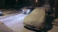 Las fuertes nevadas en la mayor parte del nordeste de los Estados Unidos afectan a sus ciudadanos
