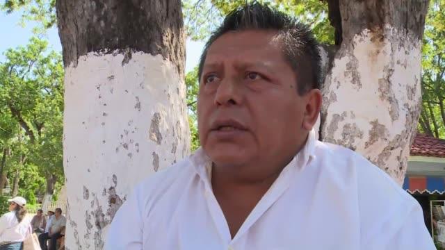 Las montanas de Iguala al sur de Mexico ocultan bajo su espesa vegetacion fosas comunes donde se buscaba a 43 estudiantes desaparecidos