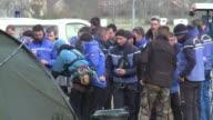 Las operaciones de busqueda de victimas de la catastrofe de A320 de Germanwings en los Alpes franceses se reanudaron este lunes por primera vez por...