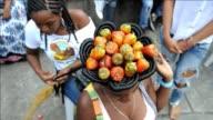 Las peluqueras de Cali participan cada ano de una competencia de peinados afro colombianos una colorida tradicion local que rinde homenaje a la...