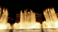 Las Vegas Fountains at Night