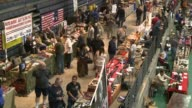 Las Vegas gun show vendors selling guns ammunition Las Vegas Gun Show on January 19 2013 in Las Vegas Nevada