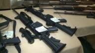 Las Vegas gun show vendors selling guns ammunition Las Vegas Gun Show on January 19 2013 in Las Vegas Nevada