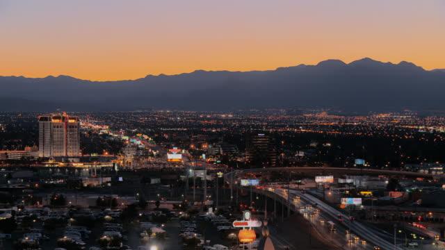 Panorama di Las Vegas