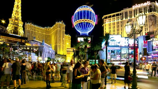 Las Vegas Strip time lapse