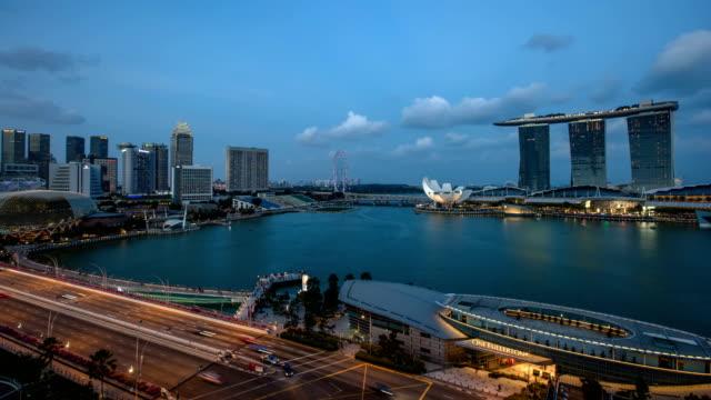 Laser light show Marina Bay Sands Singapore