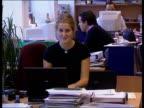 Lastminutecom launched on stock market ENGLAND London Martha Lane Fox computer crashes