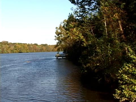 Am späten Nachmittag River