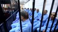 Late ruler Muammar Gaddafi's son Seif alIslam who remains in detention at a prison in the western mountainous Zintan region and 31 other defendants...