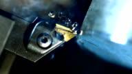 Drehmaschine Prozess (Super Zeitlupe)