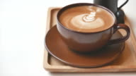 HD Latte Coffee cup