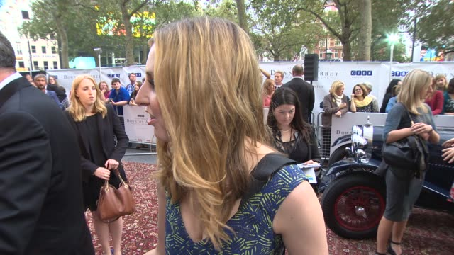 INTERVIEW Laura Carmichael on Downton Abbey the Scottish referendum and London Fashion week at 'Downton Abbey' Exclusive Charity Preview