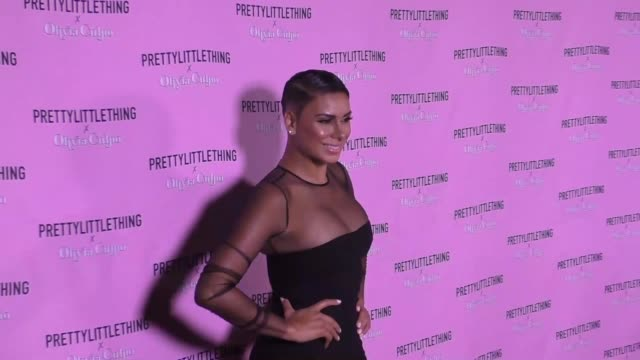 Laura Govan at the PrettyLittleThing X Olivia Culpo Launch Arrivals on August 17 2017 in Los Angeles California