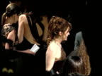 Laura Harring at the 2002 Academy Awards Vanity Fair Party at Morton's in West Hollywood California on March 24 2002