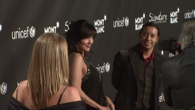 Laura Harring at the Montblanc Signature for Good Event In Association With UNICEF at Los Angeles CA