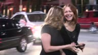 Laura Prepon greets fans departing 2013 Entertainment Weekly Pre Emmy Party in WeHo at Celebrity Sightings in Los Angeles Laura Prepon greets fans...