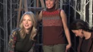 Laura Prepon Joey Lauren Adams and Ashley Judd at the 2006 Sundance Film Festival HP Portrait Studio Presented by Wireimage at WireImage Studio in...