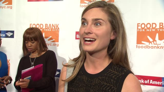 INTERVIEW Lauren Bush Lauren on what people can do to help at Food Bank For New York City CanDo Awards Dinner 2017 at Cipriani Wall Street on April...