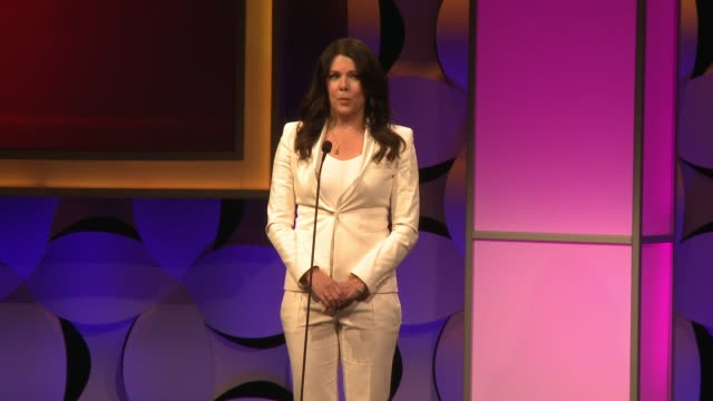 SPEECH Lauren Graham at The 40th Anniversary Gracies Awards in Los Angeles CA