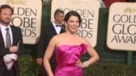 Lauren Graham at the 67th Annual Golden Globe Awards Arrivals Part 3 at Beverly Hills CA