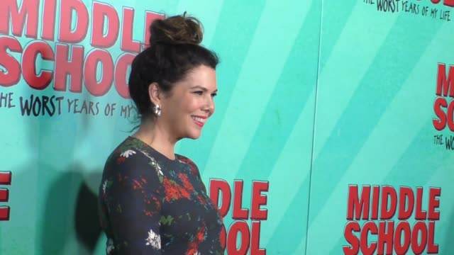 Lauren Graham at the Premiere Of CBS Films' Middle School The Worst Years Of My Life at TCL Chinese 6 Theatres in Hollywood on October 05 2016 in...