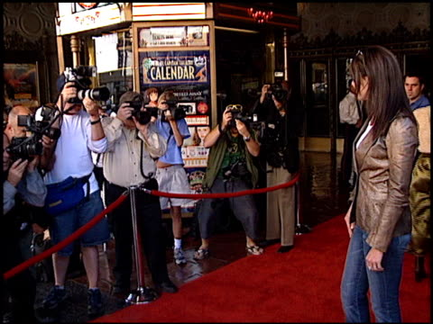 Lauren Graham at the 'Tuck Everlasting' Premiere at the El Capitan Theatre in Hollywood California on October 5 2002