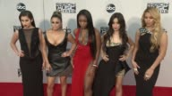 Lauren Jauregui Ally Brooke Normani Kordei Camila Cabello Dinah JaneHansen Fifth Harmony at 2015 American Music Awards Arrivals in Los Angeles CA