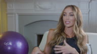 Lauren Pope on her fitness goals for 2017 working on her bum legs staying on her toes for her squats making sure you have breakfast everyday at...