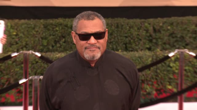 Laurence Fishburne at 23rd Annual Screen Actors Guild Awards Arrivals at The Shrine Expo Hall on January 29 2017 in Los Angeles California