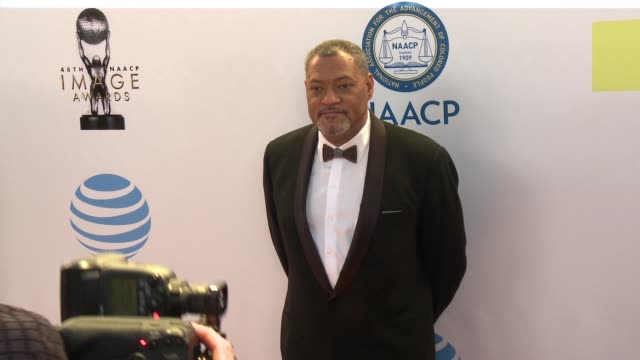 Laurence Fishburne at 48th NAACP Image Awards at Pasadena Civic Auditorium on February 11 2017 in Pasadena California
