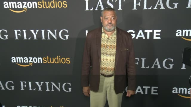 Laurence Fishburne at Amazon Studios and Lionsgate Present The Los Angeles Premiere of LAST FLAG FLYING in Los Angeles CA