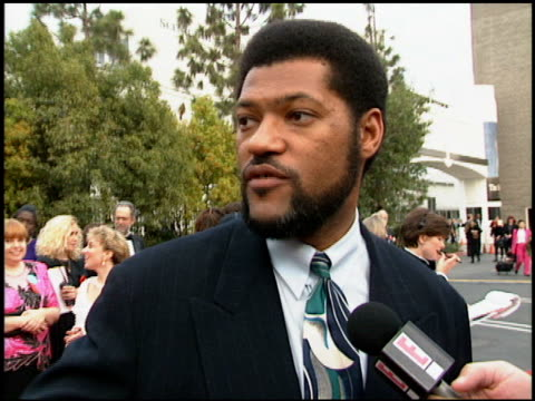 Laurence Fishburne at the 1994 People's Choice Awards at Sony Studios in Culver City California on March 8 1994
