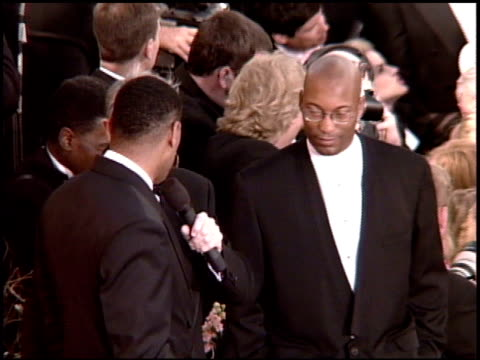 Laurence Fishburne at the 1995 Academy Awards Arrivals at the Shrine Auditorium in Los Angeles California on March 27 1995