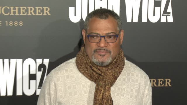 Laurence Fishburne at the 'John Wick Chapter 2' US Premiere at ArcLight Hollywood on January 30 2017 in Hollywood California
