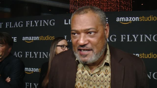 INTERVIEW Laurence Fishburne on why this is an important story to tell what made him want to bring this character to life and talks about working...