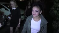 INTERVIEW Laurie Hernandez talks about Ryan Lochte protester what advice she got from Aly Raisman at the Grove in Los Angeles in Celebrity Sightings...