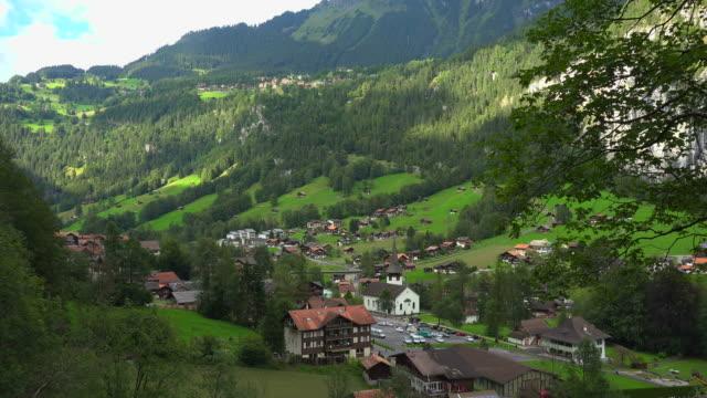 Lauterbrunnen, Lauterbrunnen Valley, Bernese Alps, Switzerland, Europe