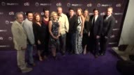 'Law Order True Crime' cast at The Paley Center For Media's 11th Annual PaleyFest Fall TV Preview of 'Law Order True Crime' on September 11 2017 in...