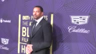 Laz Alonso at The BET 2017 American Black Film Festival Honors Awards at The Beverly Hilton Hotel on February 17 2017 in Beverly Hills California