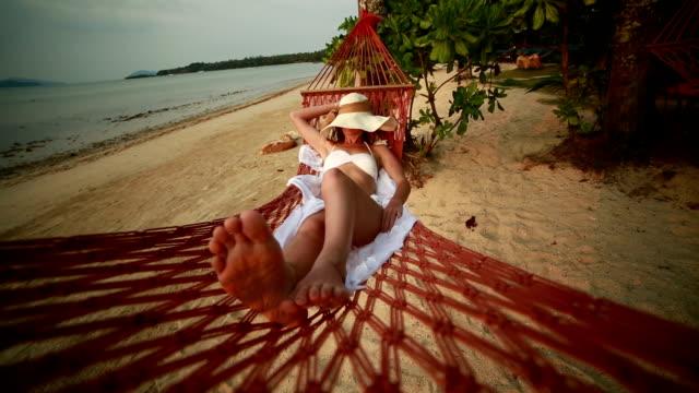 Faulheit und Entspannung in der Hängematte