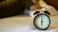 ZO lazy to waking up from alarm clock