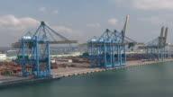 Le Havre port. France