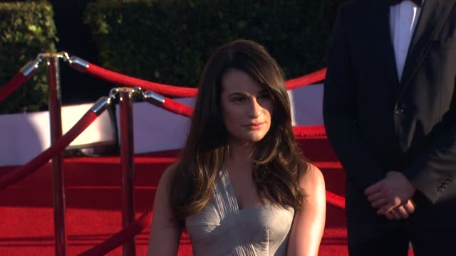 Lea Michele at 18th Annual Screen Actors Guild Awards Arrivals on 1/29/2012 in Los Angeles CA